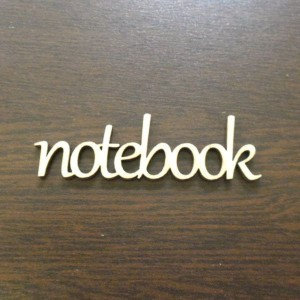 ND243 Napis NOTEBOOK