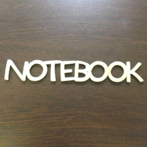 ND211 Napis NOTEBOOK